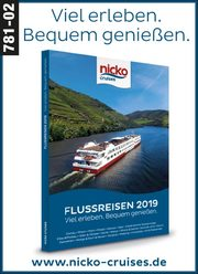 nicko cruises -  Flussreisen 2019