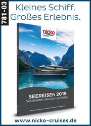 nicko cruises -  Seereisen 2019