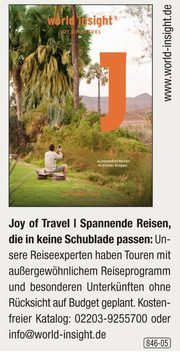 World Insight – Joy of Travel