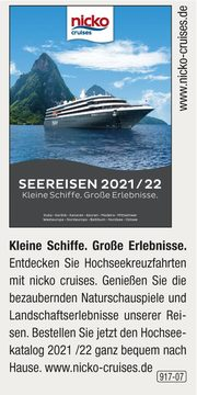 nicko cruises -  Seereisen 2021-2022