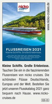 nicko cruises -  Flussreisen 2021